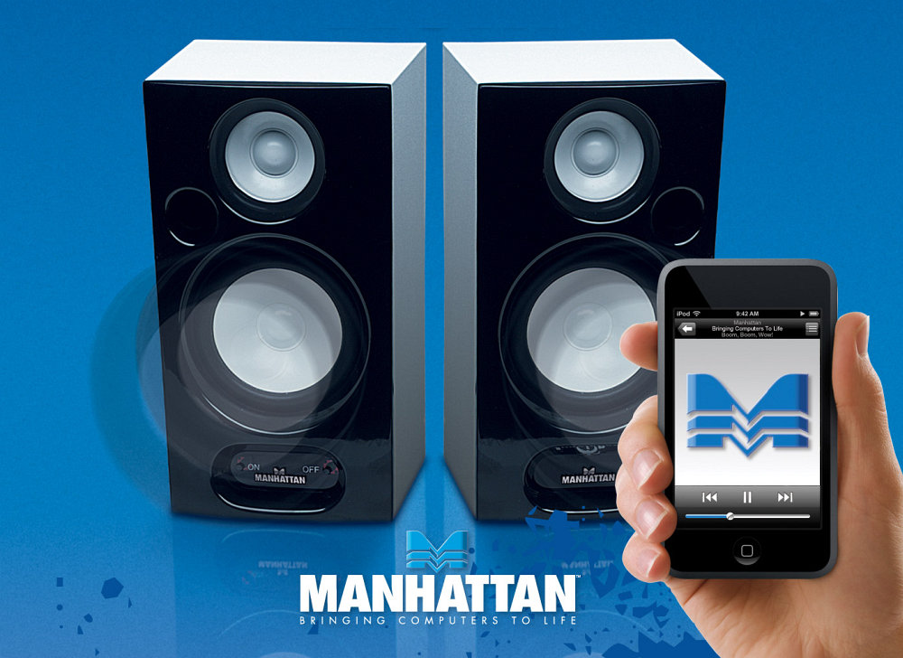 Manhattan 2800 Acoustic Series (Bluetooth) pilt 3
