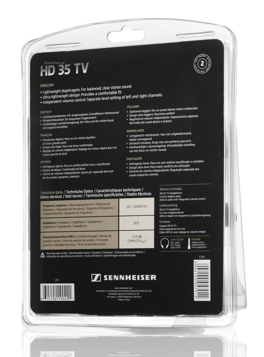 Sennheiser HD 35 TV pilt 4