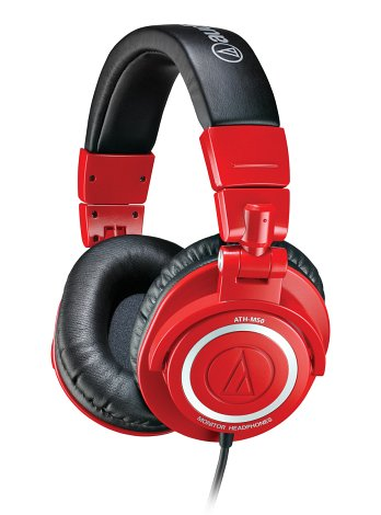 Audio-Technica ATH-M50RD Limited-Edition