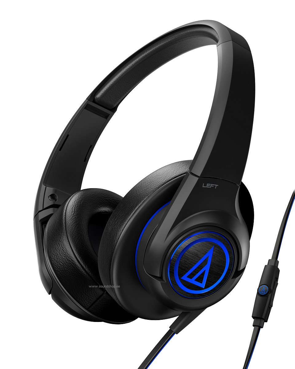 Audio-Technica ATH-AX5iS SonicFuel pilt 0