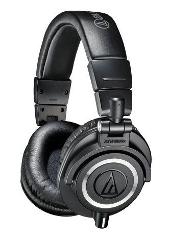 Koht nr. 5 - Audio-Technica ATH-M50X Must