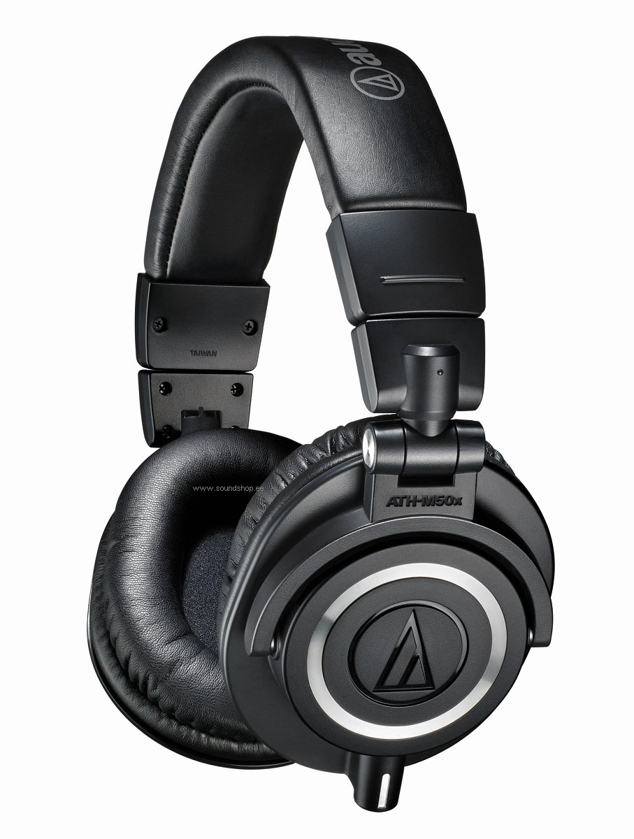Audio-Technica ATH-M50X Must pilt 0