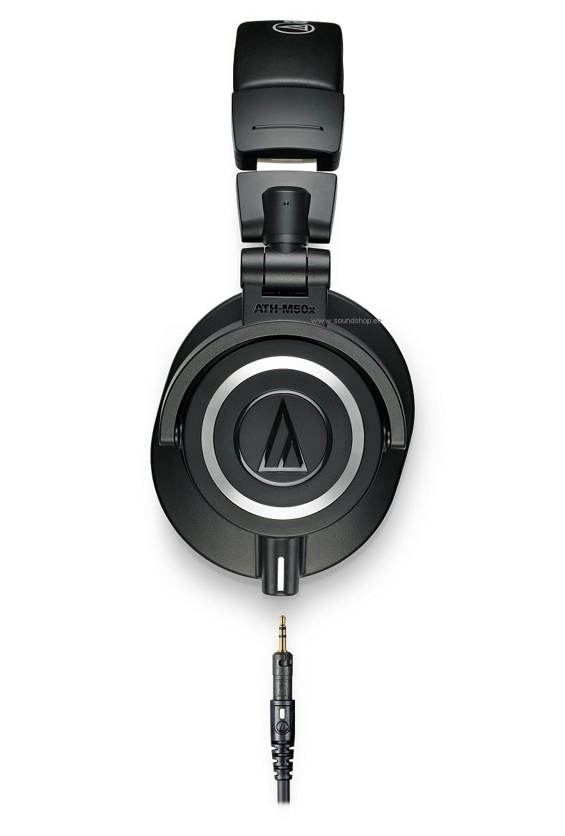 Audio-Technica ATH-M50X Must pilt 1