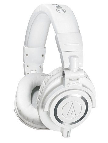 Audio-Technica ATH-M50X WH Valge soodushind −14%