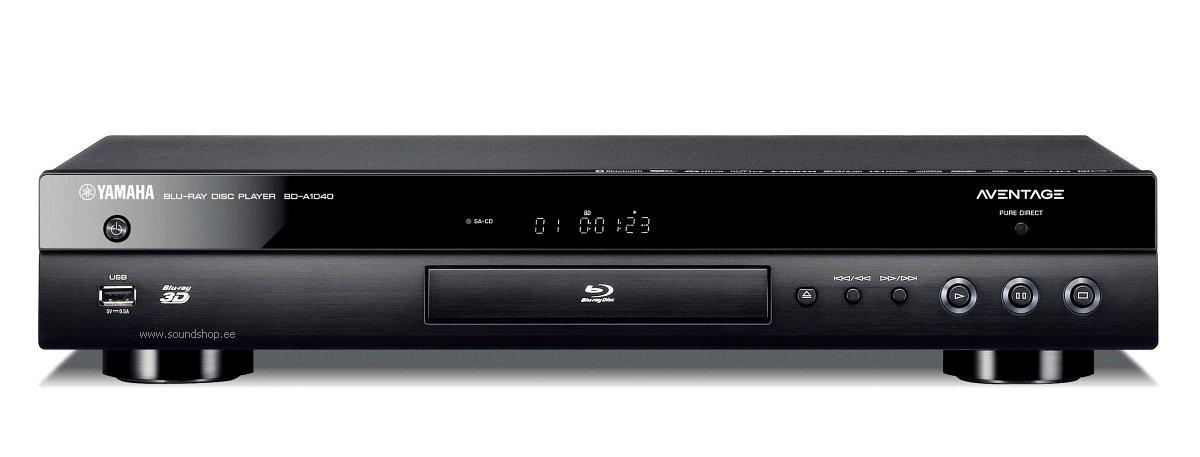 54c1da0c484 Tooteinfo : Blu-ray mängija Yamaha BD-A1040