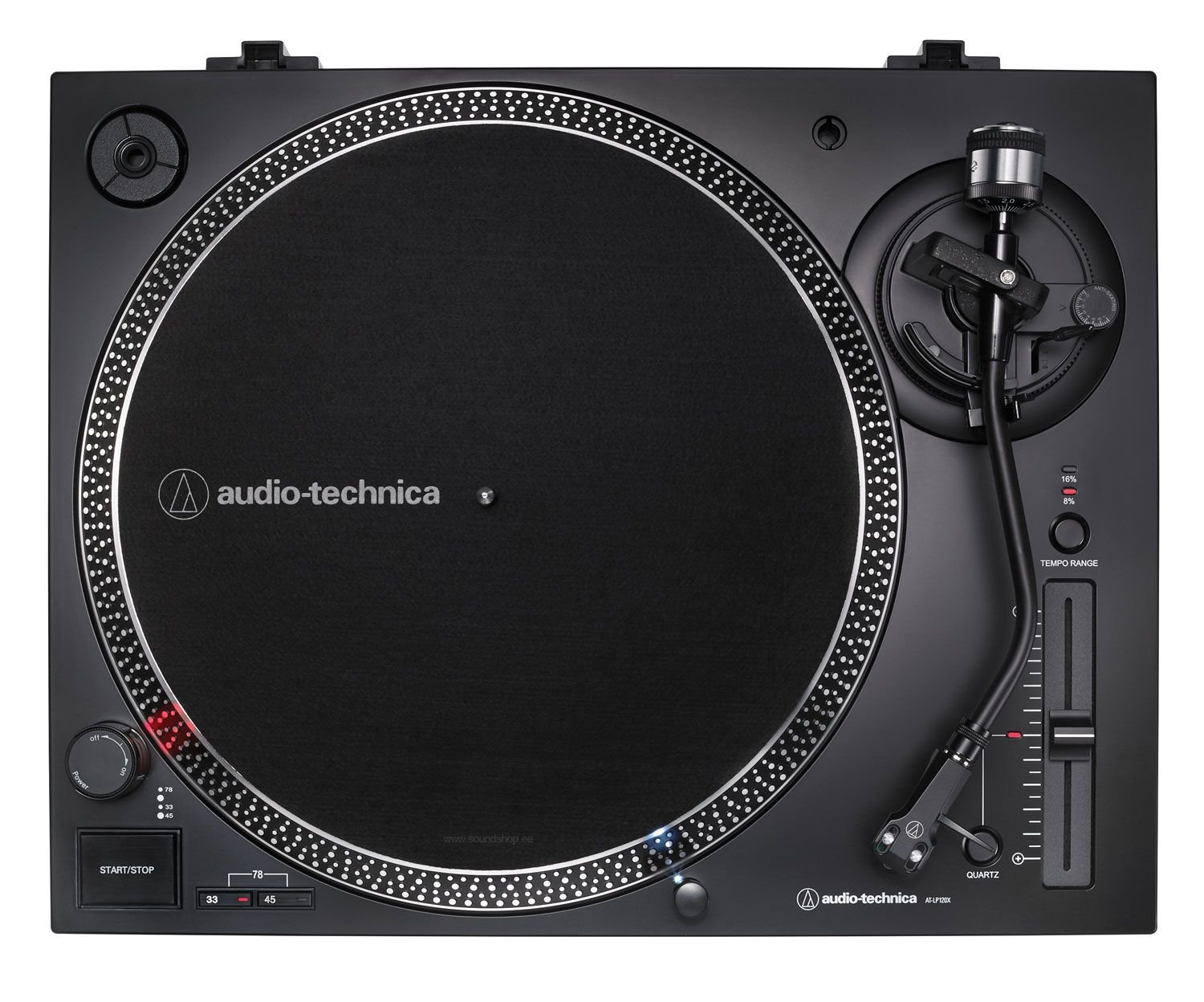 Audio-Technica AT-LP120XUSB-BK (BLACK) pilt 1