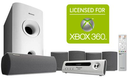 Pioneer Xbox 360 Surround Sound System